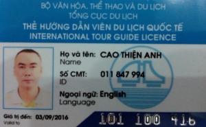 Vietnam Tour Guide Licence